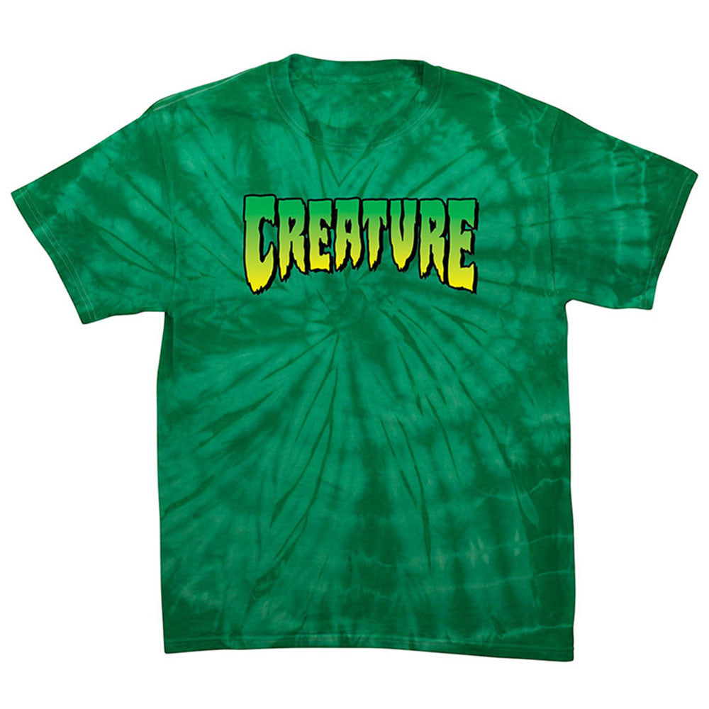Creature Logo Regular S/S Men's T-Shirt - Spider Kelly