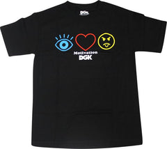 DGK T's H8R Symbols - Black - Men's T-Shirt