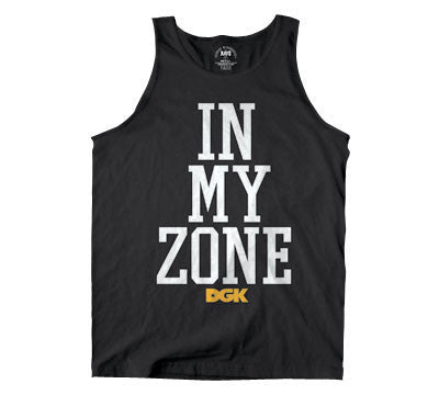 DGK T's In My Zone Men's Tank Top - Black