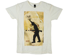 Obey Sol S/S Men's T-Shirt - Vanilla