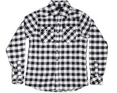 686 Los 119 Logger L/S Men's Flannel - Black/White