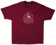 686 Qualite S/S Men's T-Shirt - Burgundy