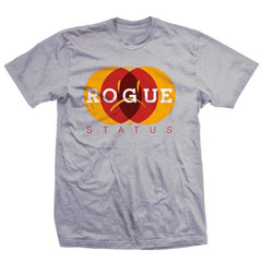 Rogue Status Dots Men's T-Shirt - Silver - Extra Large