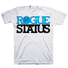 Rogue Status Block RS Men's T-Shirt - White/Blue/Black