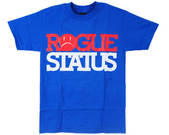 Rogue Status Block RS S/S Men's T-Shirt - Royal/Red/White