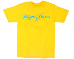 Rogue Status Classic S/S Men's T-Shirt - Yellow