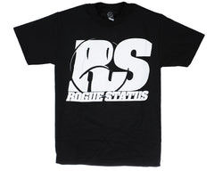 Rogue Status Motoshot S/S Men's T-Shirt - Black/White