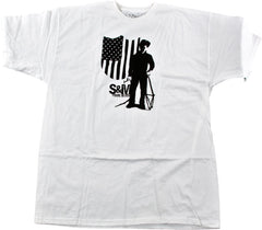 S&M SB4 Men's T-Shirt - White