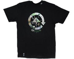 LRG Grass Roots Seven S/S Men's T-Shirt - Black