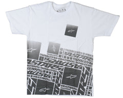 Alpinestars Leak S/S Men's T-Shirt - White