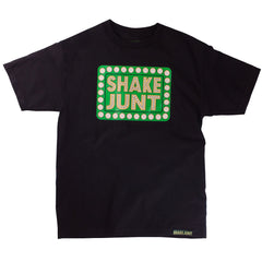 Shake Junt Box Logo S/S Men's T-Shirt - Black