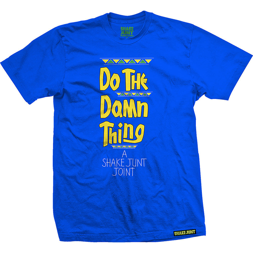 Shake Junt Damn Thing S/S Men's T-Shirt - Royal Blue