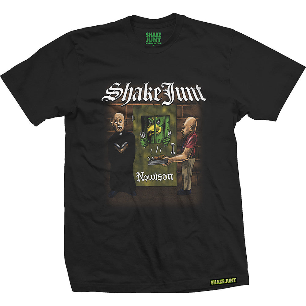 Shake Junt Last Meal S/S Men's T-Shirt - Black