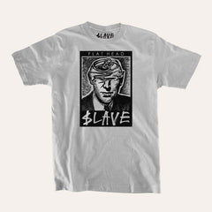 Slave Flat Head S/S - Silver - Men's T-Shirt