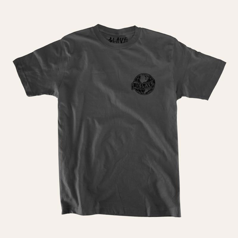 Slave Old World S/S - Charcoal - Men's T-Shirt