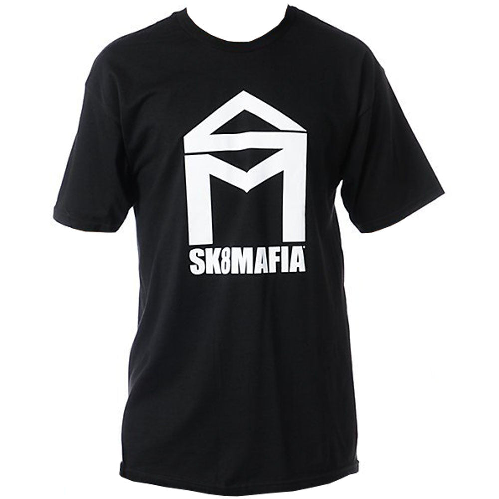 Sk8mafia House logo Men's T-Shirt - Black/White