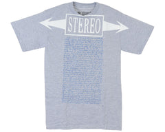 Stereo 1991 S/S Men's T-Shirt - Heather Grey