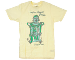 Stereo Mayan S/S Men's T-Shirt - Yellow