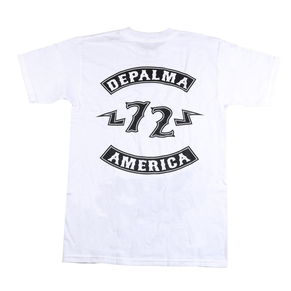 DePalma Rocker Mens T-Shirt - White