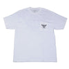 DePalma Flying Wheel T-Shirt - White - Mens T-Shirt