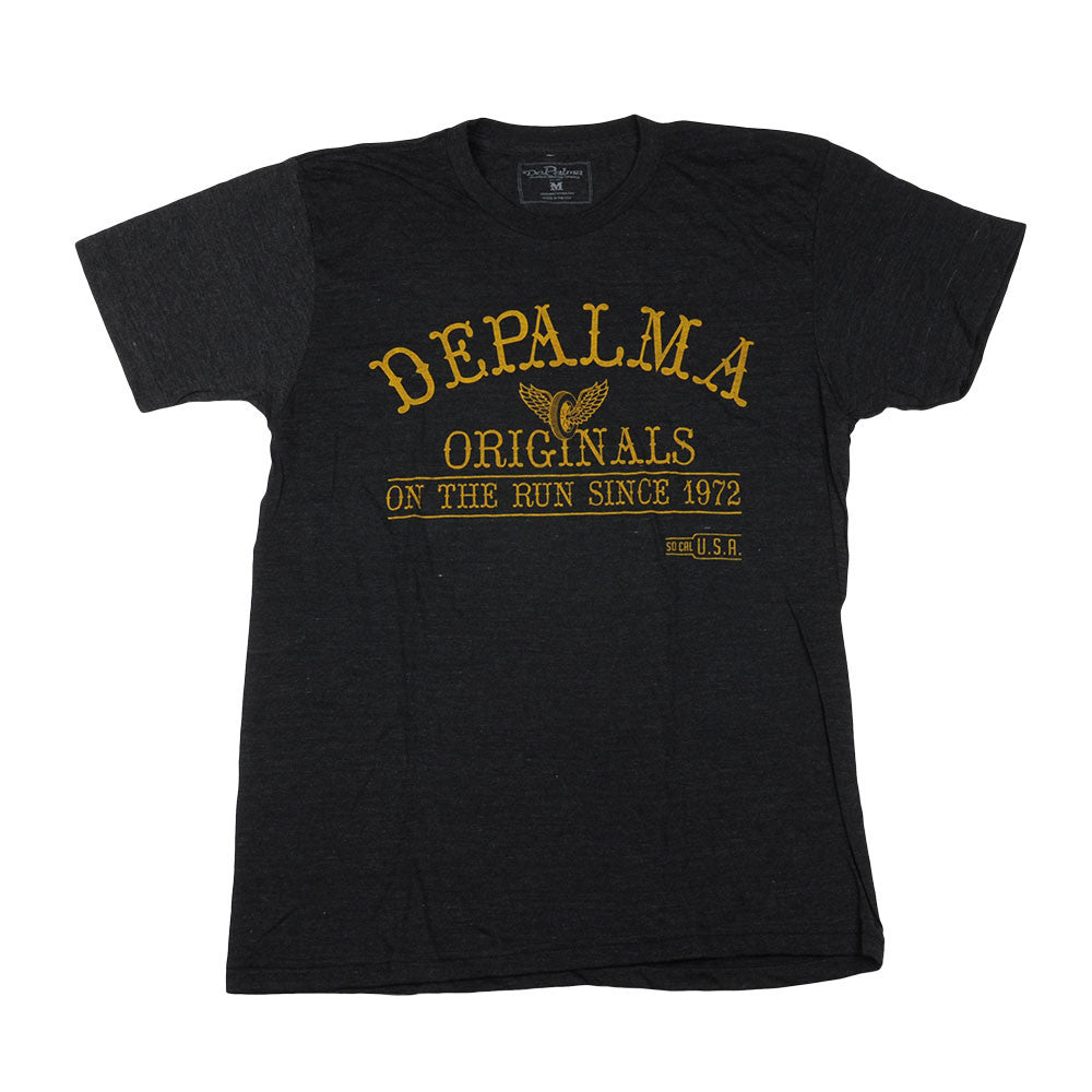 DePalma Originals Mens T-Shirt - Black