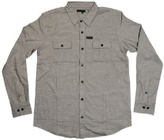 Elm Company The Davis Flannel - Grey - Mens T-Shirt