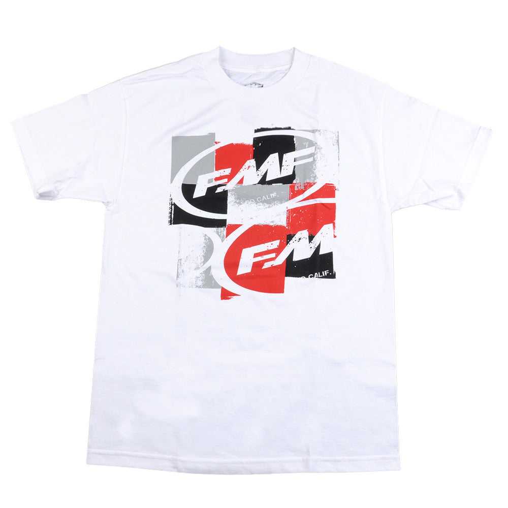 FMF Boxxer Tee - White - Mens T-Shirt
