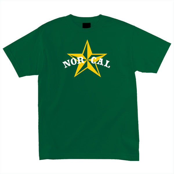 Nor Cal Nautical 2 Regular S/S Men's T-Shirt - Hunter Green