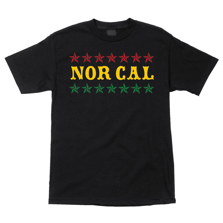 Nor Cal Slacker Regular S/S Men's T-Shirt - Black