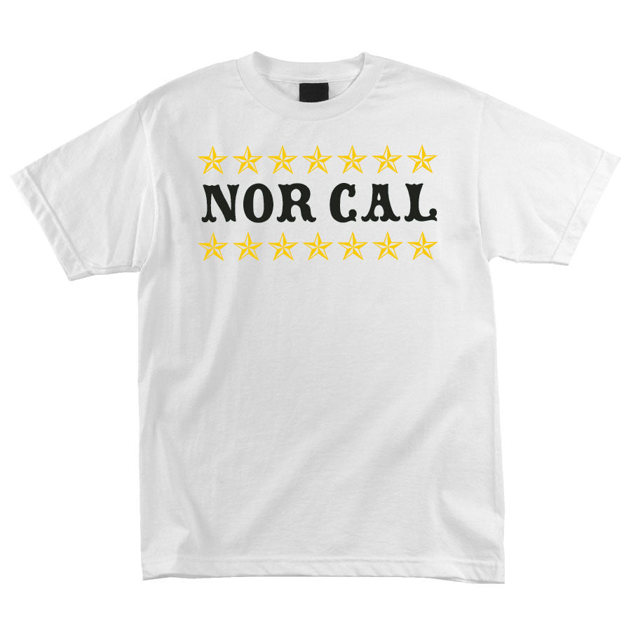 Nor Cal Slacker Regular S/S Men's T-Shirt - White