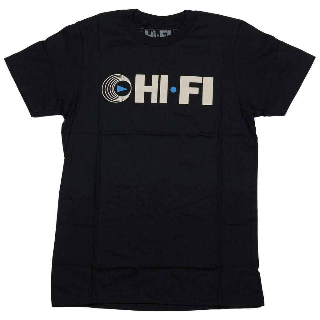 Hifi Men's T-Shirt - Black/Blue