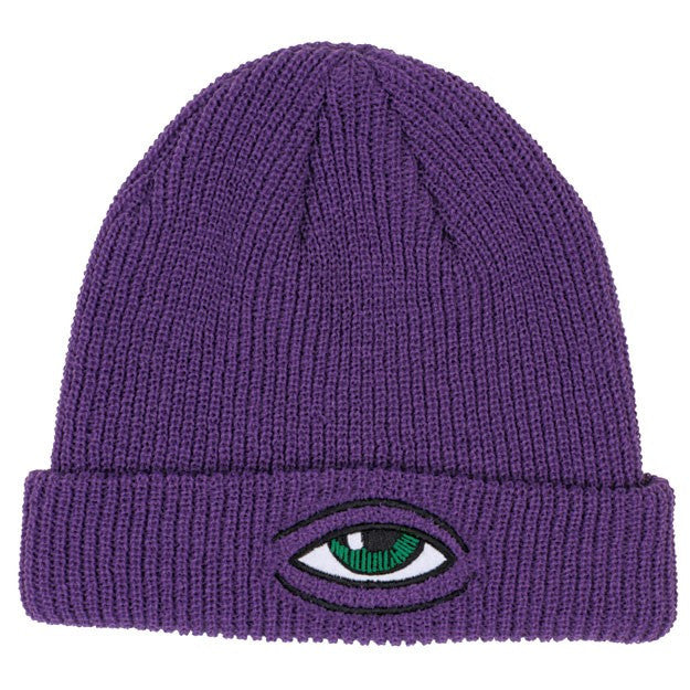 Toy Machine Sect Eye Dock Men's Beanie - Purple