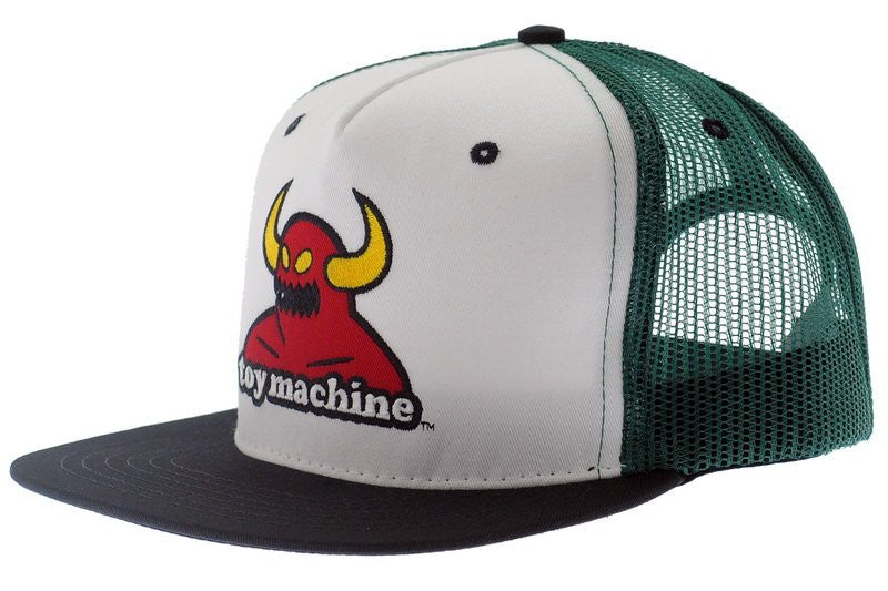 Toy Machine Monster Adjustable Snapback Men's Hat - Green