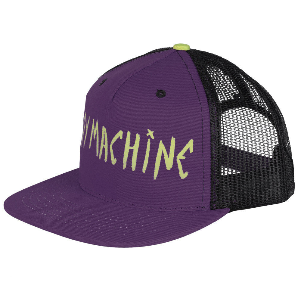 Toy Machine Sect Eye 2 Adjustable Men's Trucker Hat - Purple