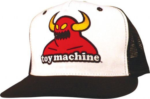 Toy Machine Monster Patch Snapback Men's Hat - Black