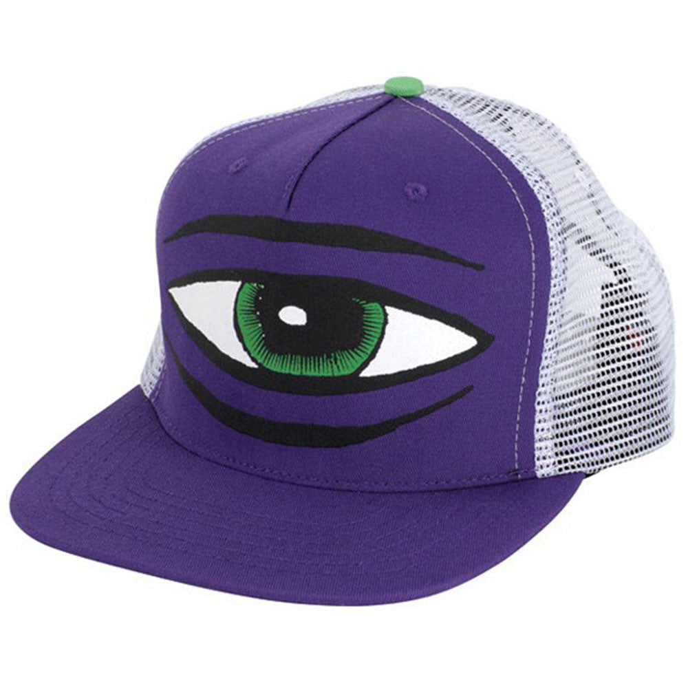 Toy Machine Sect Eye Mesh Men's Hat - Purple