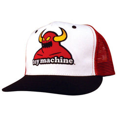 Toy Machine Monster Patch Mesh Men's Hat - Red