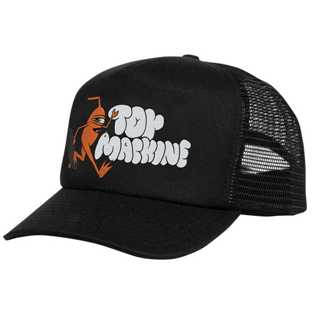 Toy Machine Jump Ramp Mesh Men's Hat - Black/Black