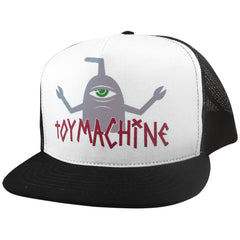 Toy Machine T-Sect Logo Men's Hat - Black