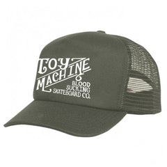 Toy Machine Joe's Style Mesh Men's Hat - Army