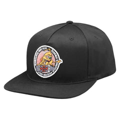 Toy Machine Skate Cycos Patch Men's Hat - Black/Black