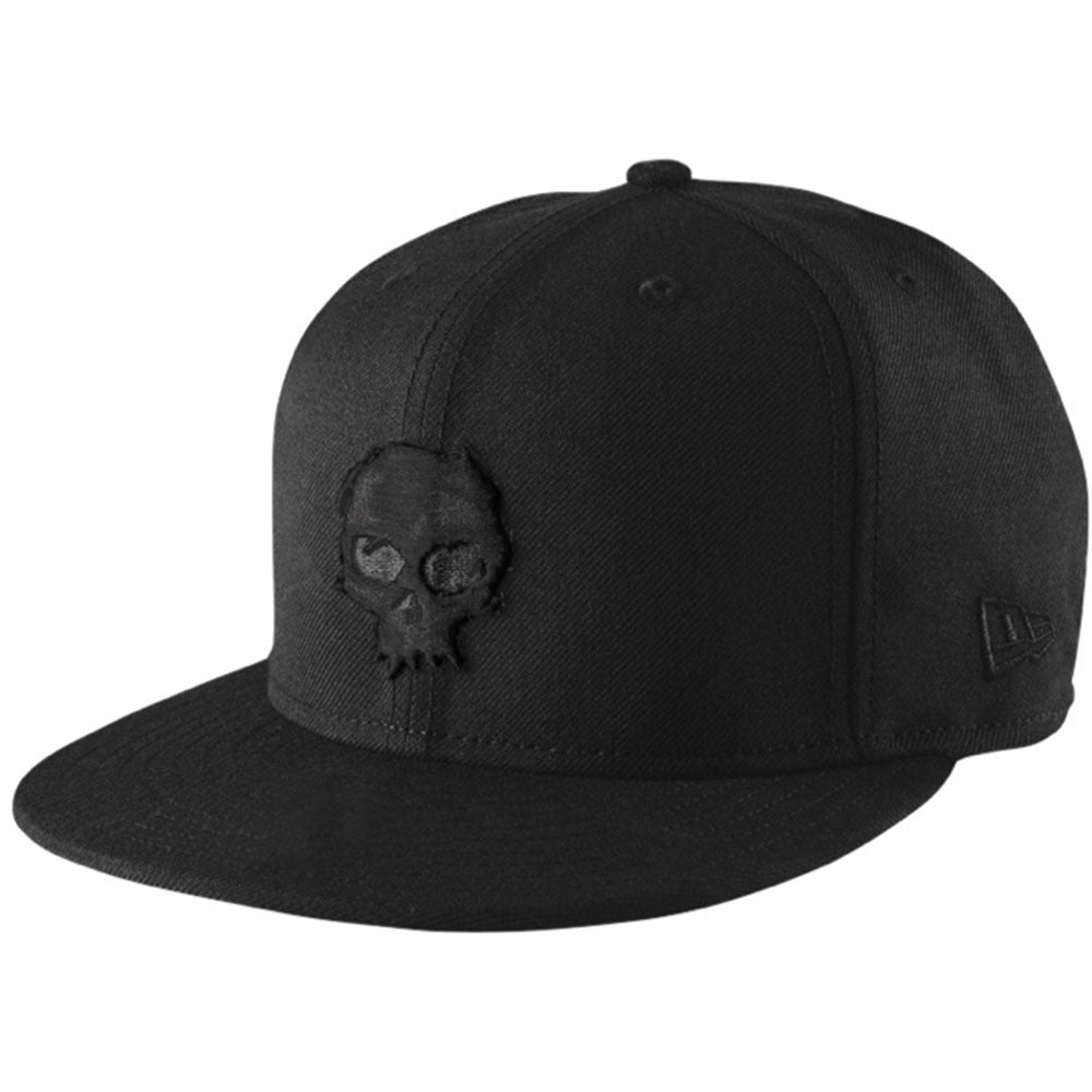 Zero Blood Skull Men's Hat - Black Skull/Black Cap