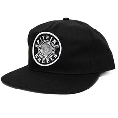 Spitfire OG Swirl Adjustable Snapback Men s Hat - Black White b10ebf7eb88