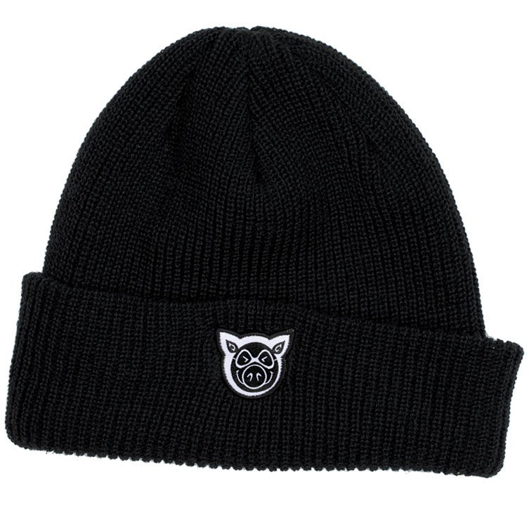 Pig Wharf Men's Beanie - Black