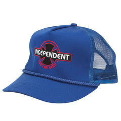 Independent Can't Be Beat Men's Trucker Hat - Royal Blue