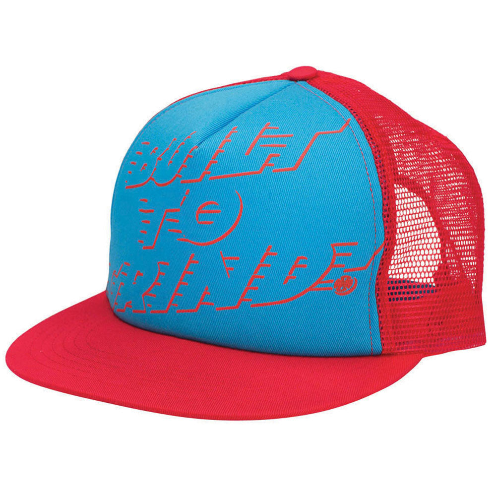 Independent LRG BTG Mesh Snapback Men's Hat - Red/Blue - Adjustable