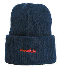 Chocolate Chunk Mask Men's Beanie - Blue