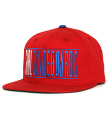 Girl Bars Snapback Men's Starter Hat - Red