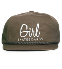 Girl Century Men's Hat - Brown/Charcoal