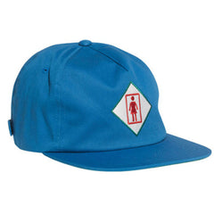 Girl Tourist Strapback Men's Hat - Royal